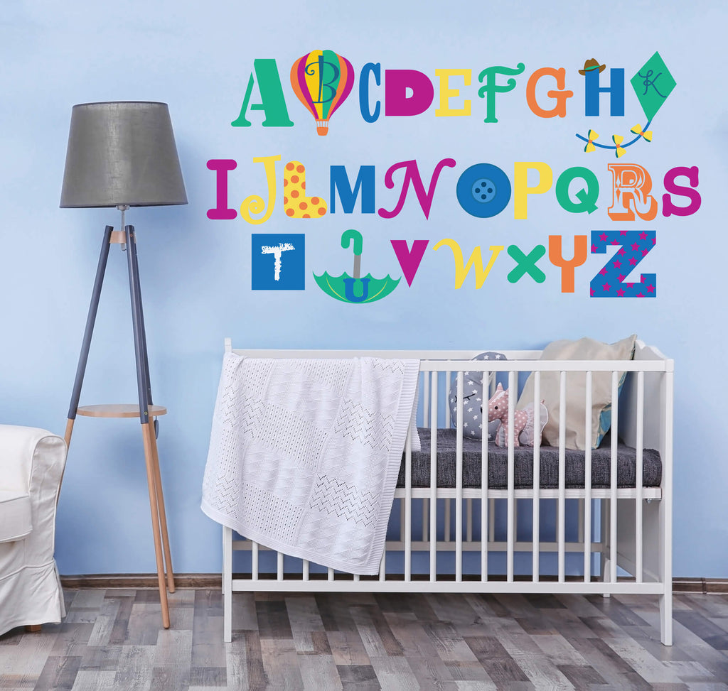 Learning the Alphabet Wall Decals