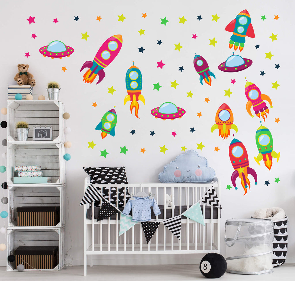 Fun Space Wall Decals