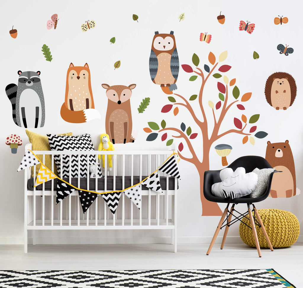 Woodland Wall Decals