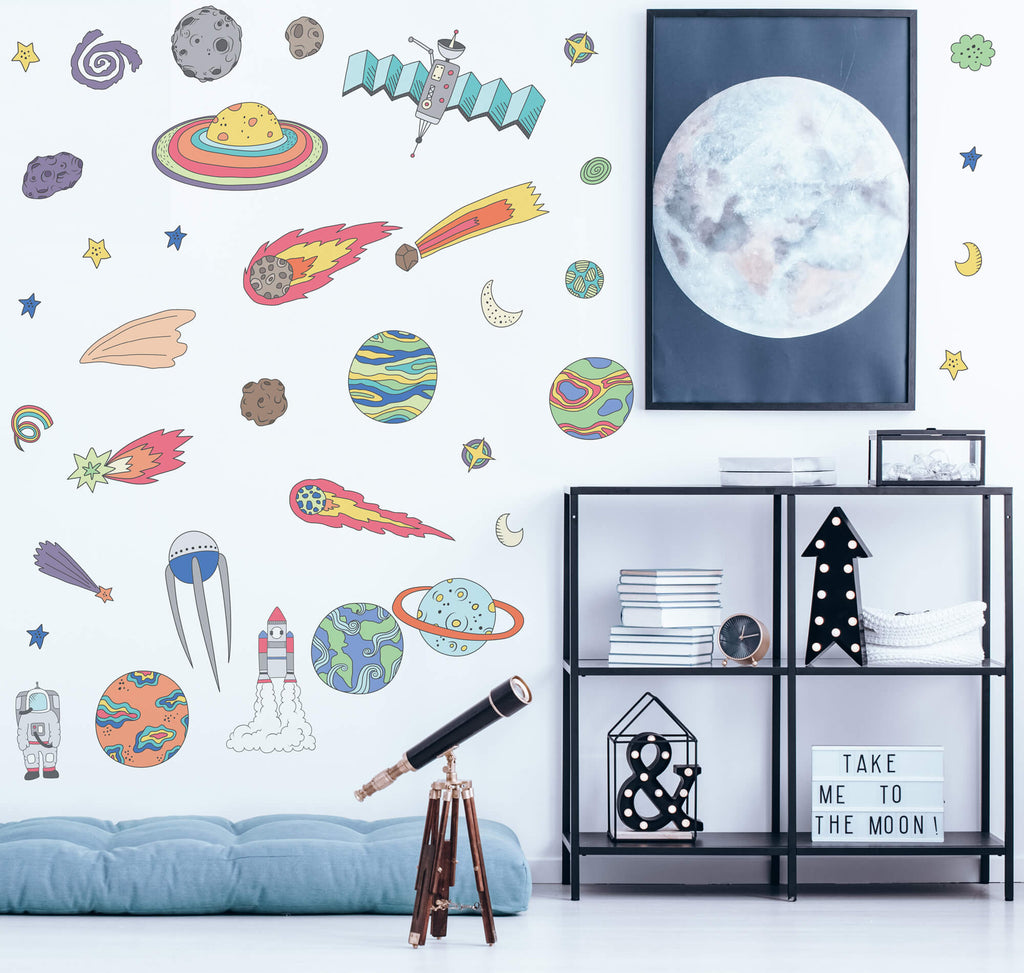 Space Wall Decals