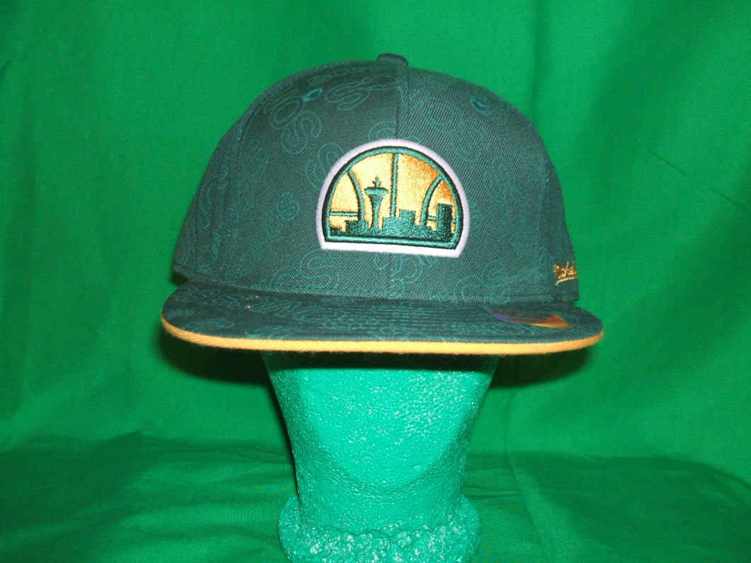 Seattle Sonics Mitchell & Ness Hat