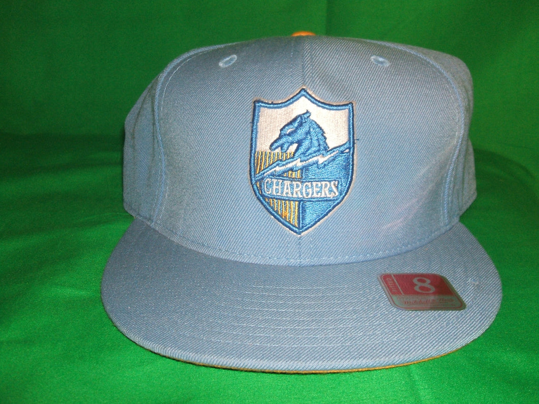 NFL Chargers Throwback Mitchell & Ness Hat Fitted