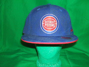 NBA Detroit Piston Mitchell & Ness (Retro) Hat Fitted