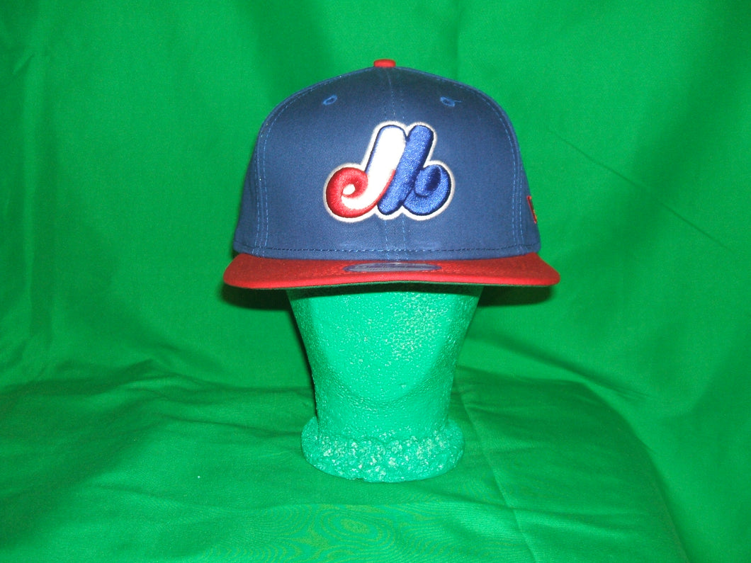 MLB Montreal expos New Era Throwback  Snapback Hat