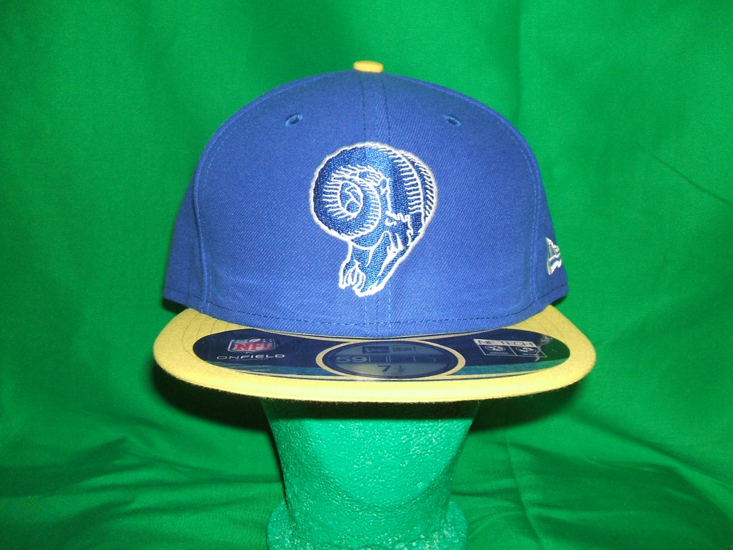 NFL Los Angeles Rams New Era (2 -tone) Hat Fitted