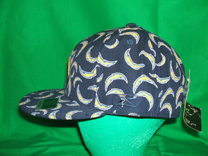 NFL Los Angeles Chargers Reebok ( print all over) Hat Fitted
