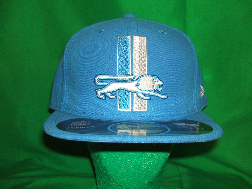 NFL Detroit Lions (Throwback ) New Era Hat Fitted