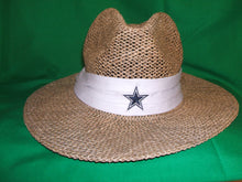 Load image into Gallery viewer, NFL Dallas Cowboys Reebok Straw Hat