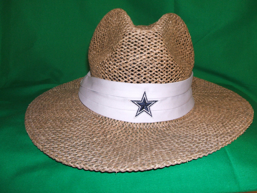 NFL Dallas Cowboys Reebok Straw Hat