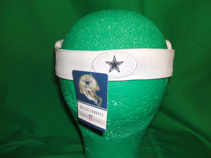 NFL Dallas Cowboys Reebok Visor -with adjustable back (color White)