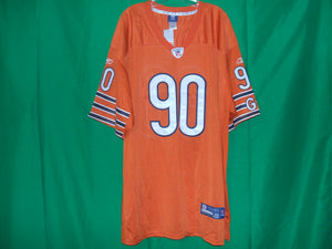 NFL Chicago Bears Reebok Authentic  Mesh Game Jersey PEPPERS 99