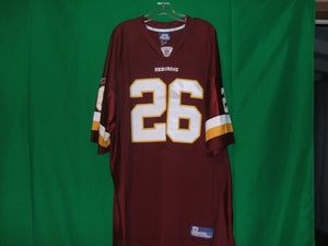 NFL Washington Redskins   Reebok Authentic  Game Jersey PORTIS 26