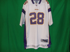 NFL Minnesota Vikings Reebok on Field Replica PETTERSON 28