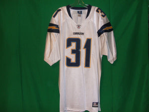 NFL Los Angeles Chargers  Reebok on Field Authentic Game Jersey CROMARTIE 31
