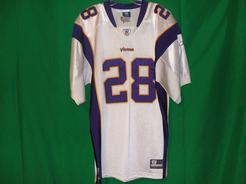 NFL Minosota Vikings  Reebok on Field Authentic Game Jersey PETTERSON 28