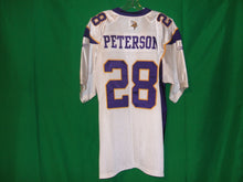Load image into Gallery viewer, NFL Minnesota Vikings Reebok Authentic Game Jersey PETTERSON 28