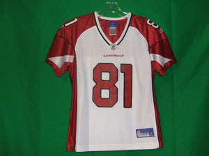 NFL Reebok  Ladies Arizona Cardinals -on Field Replica jersey  BOLDIN #81