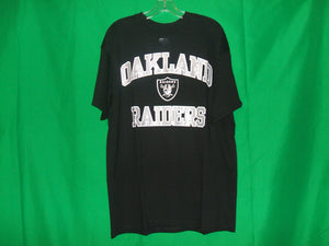 NFL Oakland Raiders with shield logo* Team Apparel T-Shirt