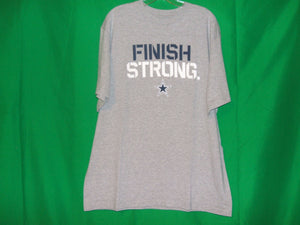 "NFL Dallas Cowboys Team Apparel* FINISH STRONG"" T-Shirt"