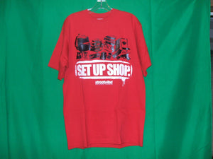 "Streetwise ""Set Up Shop "" T-Shirt"