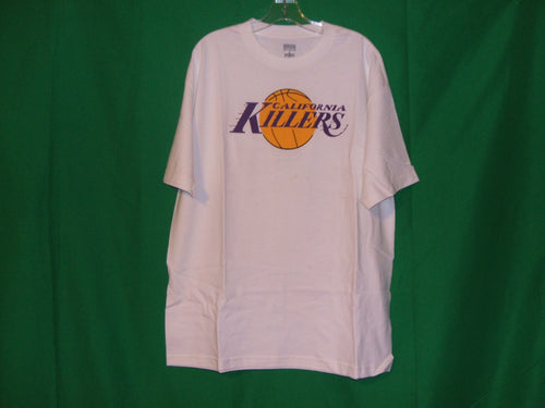 California Killers* Los Angeles Lakers replica design * T-Shirt