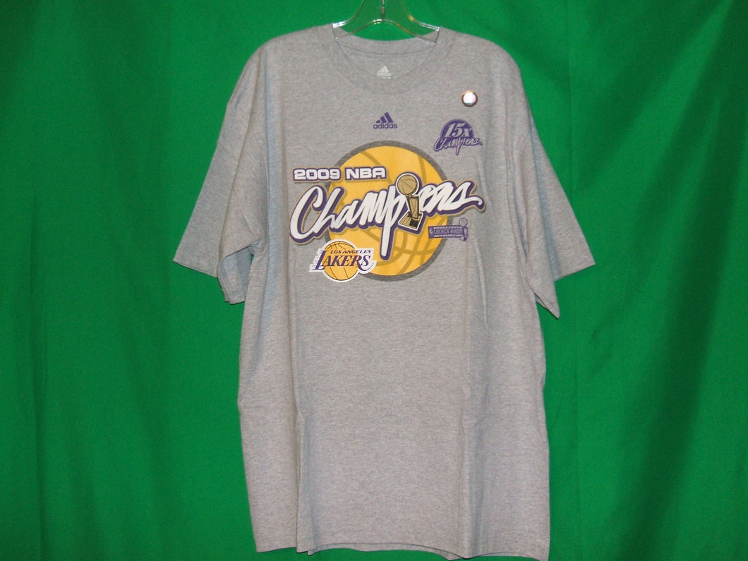 NBA Los Angeles Lakers Adidas MEMORABILIA* 2009 T-Shirt