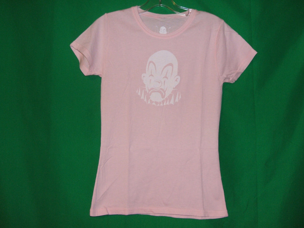 Joker Brand Ladies Clown Face T-Shirt