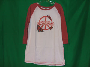 "Napsac ""Peace"" Mid-Sleeves  Vintage*T-Shirt"