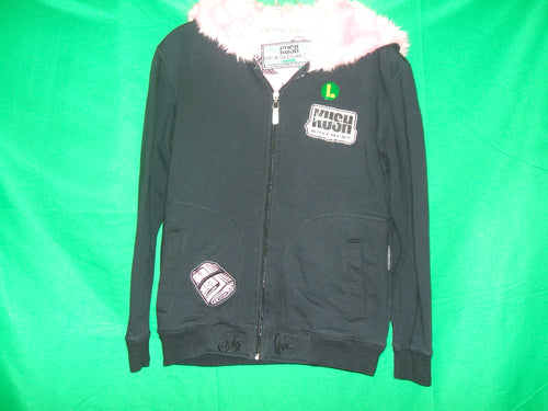 Ladies KUSH  zip-up Hoodie Jacket