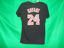 Load image into Gallery viewer, NBA Ladies Majestic Los Angeles Lakers KOBE BRYANT #24 T-Shirt