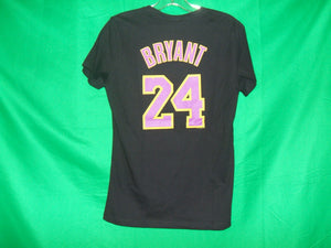 NBA Ladies Majestic Los Angeles Lakers KOBE BRYANT #24 T-Shirt