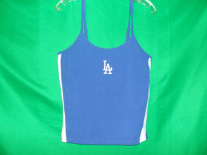 Ladies Los Angeles Dodgers  adjustable Spaghetti strap-  Tank Top * T-Shirt