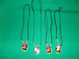 Rasta Bob Marley pendant necklace chokers with beads