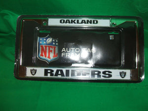 NFL Oakland Raiders Auto LicenseTag Frame