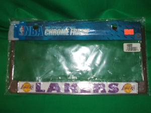 NBA  Los Angeles Lakers Chrome License Plate Frame