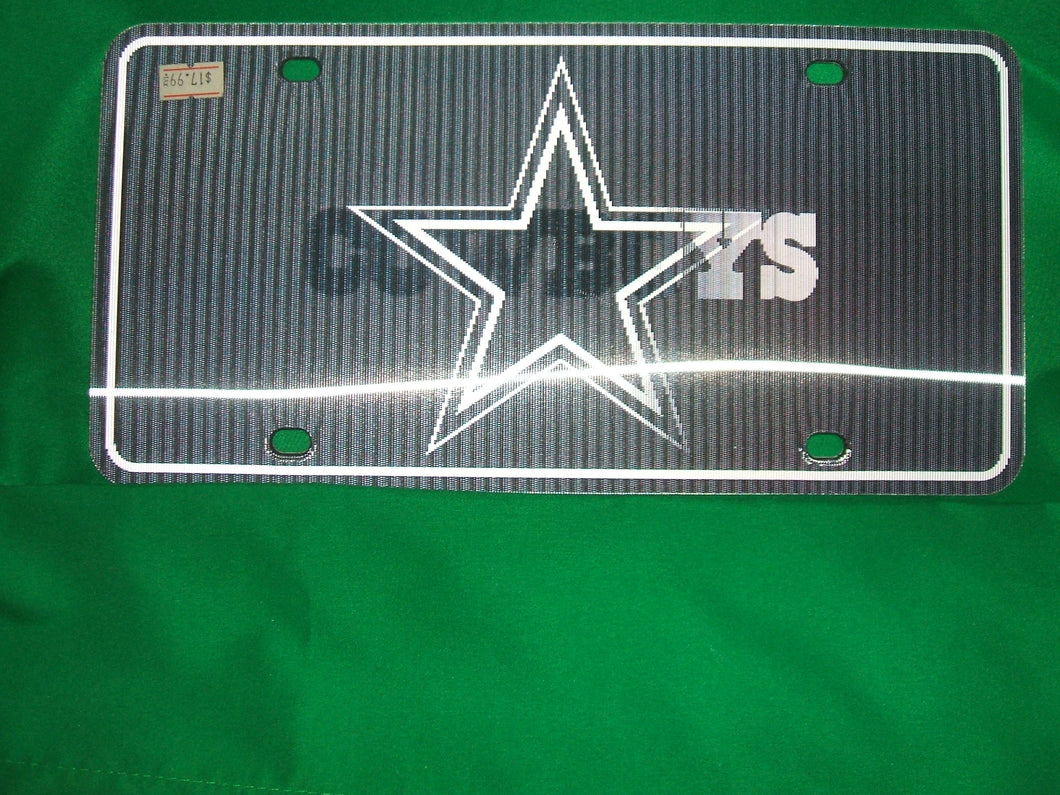 NFL Dallas Cowboys Lenticular Auto Tag