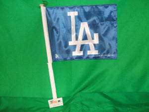 MLB Los Angeles Dodgers LA Car Flags