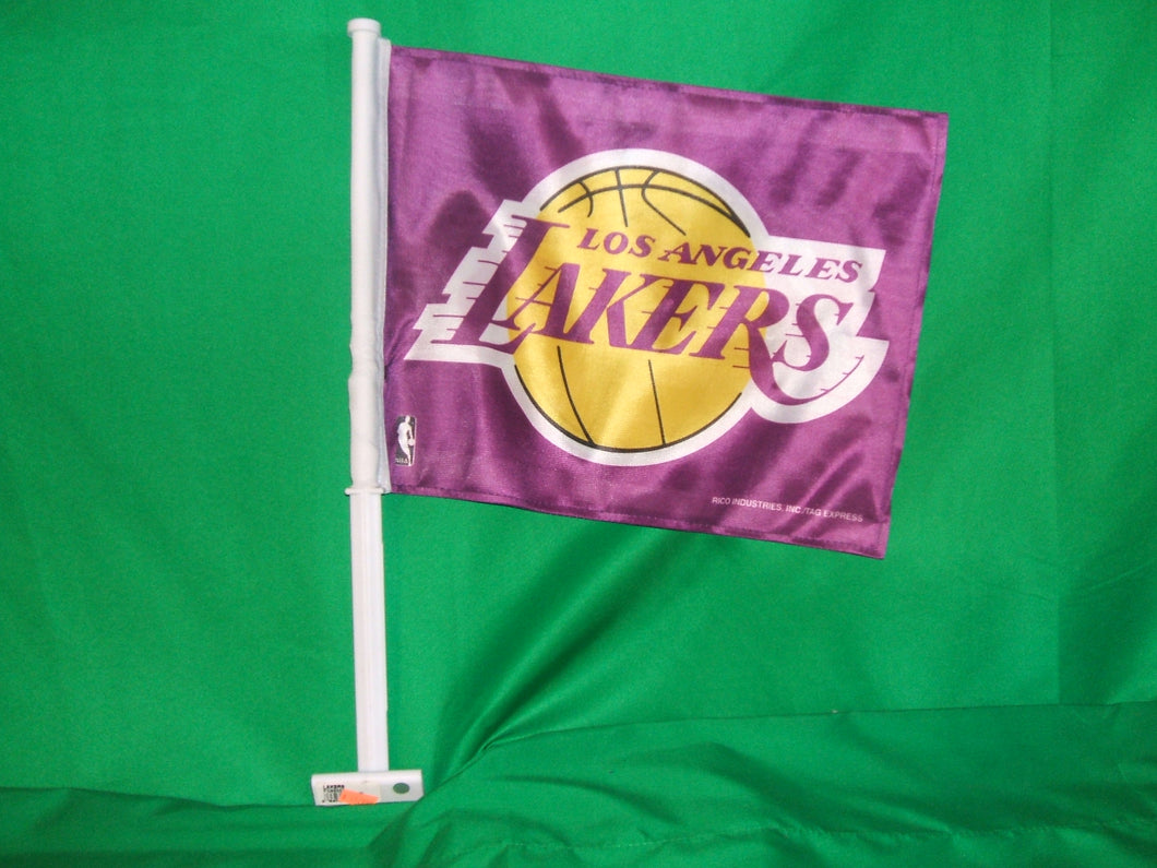 NBA Los Angeles Lakers Car Flag