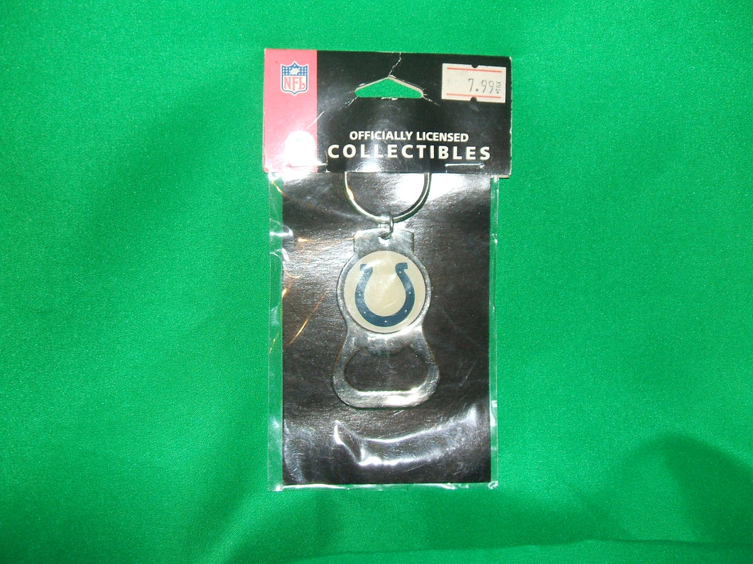 NFL Indianapolis Colts Keychain with Bottle Cap Opener