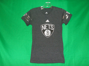 NBA Girls Adidas Brooklyn Nets T-Shirt