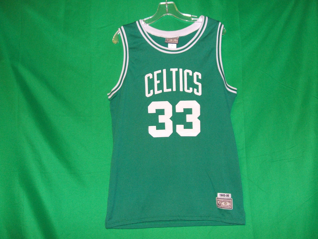 NBA Boston Celtics Larry Bird Hardwood Classics Jersey