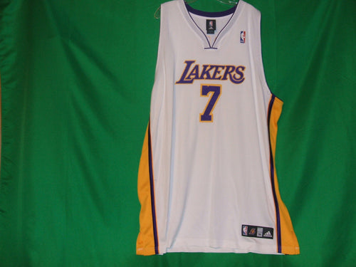 Adidas Lamar Odom Los Angeles Lakers Jersey