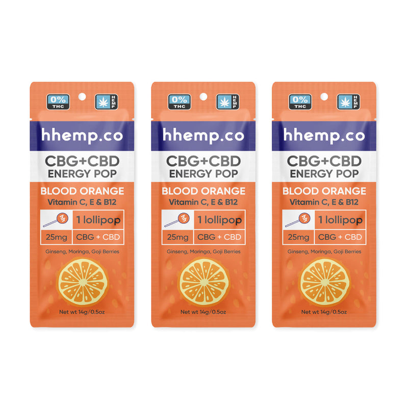 HH Energy Pop - Blood Orange (Pack of 3)