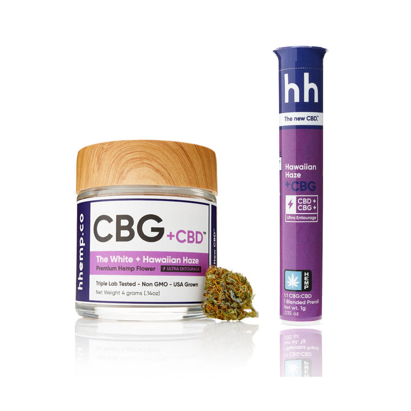 HH CBG+Hawaiian Haze Duo Set