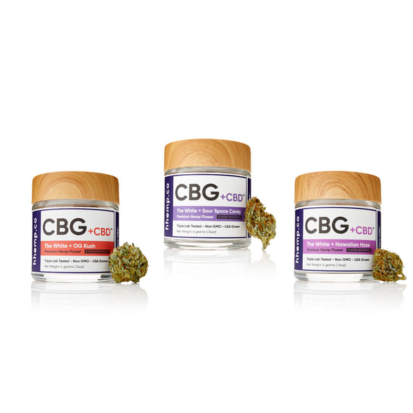 HH CBD+CBG Flower Trio Set A