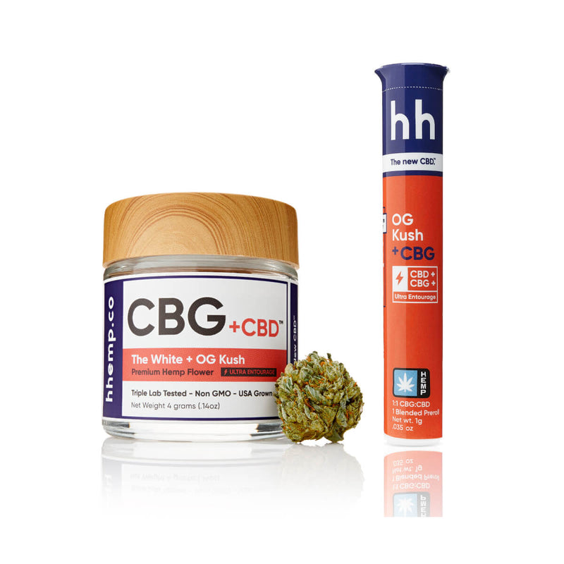 HH CBG+OG Kush Duo Set