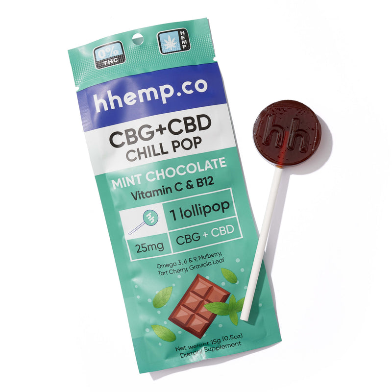 HH Chill Pop - Mint Chocolate (Pack of 3)