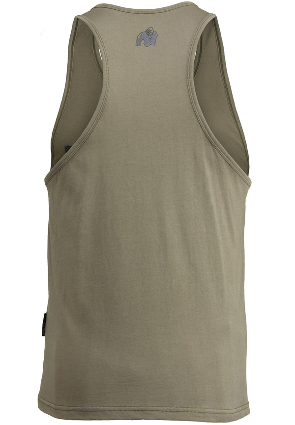 Evansville Tank Top - Army Green