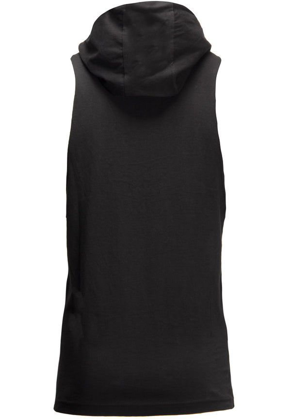 Rogers Hooded Tank Top - Black