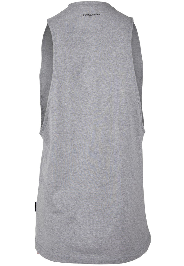 Cisco Drop Armhole Tank Top - Gray/Black